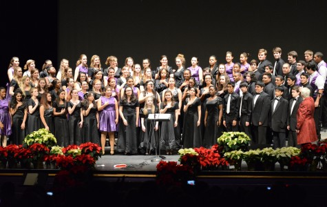 Here's to the senior choir members