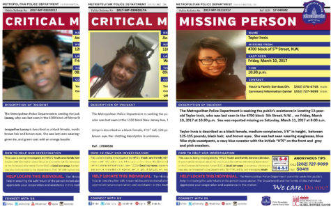 Missing Girls In D.C raises safety concerns for surrounding areas