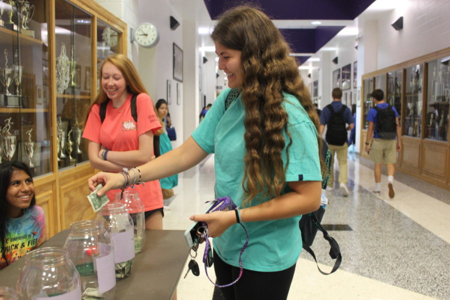 Hundreds for Harvey: Students Raise Money to Help Those Affected By Hurricanes