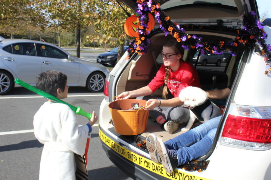 Key Club and Community Unite for Annual Trunk-or-Treat
