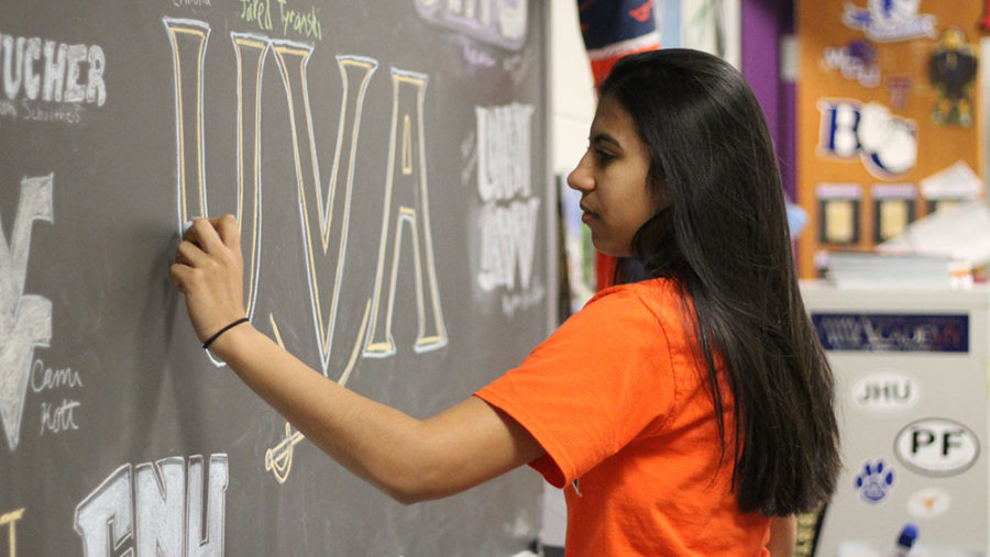 You're In! These three seniors will be attending UVA next year