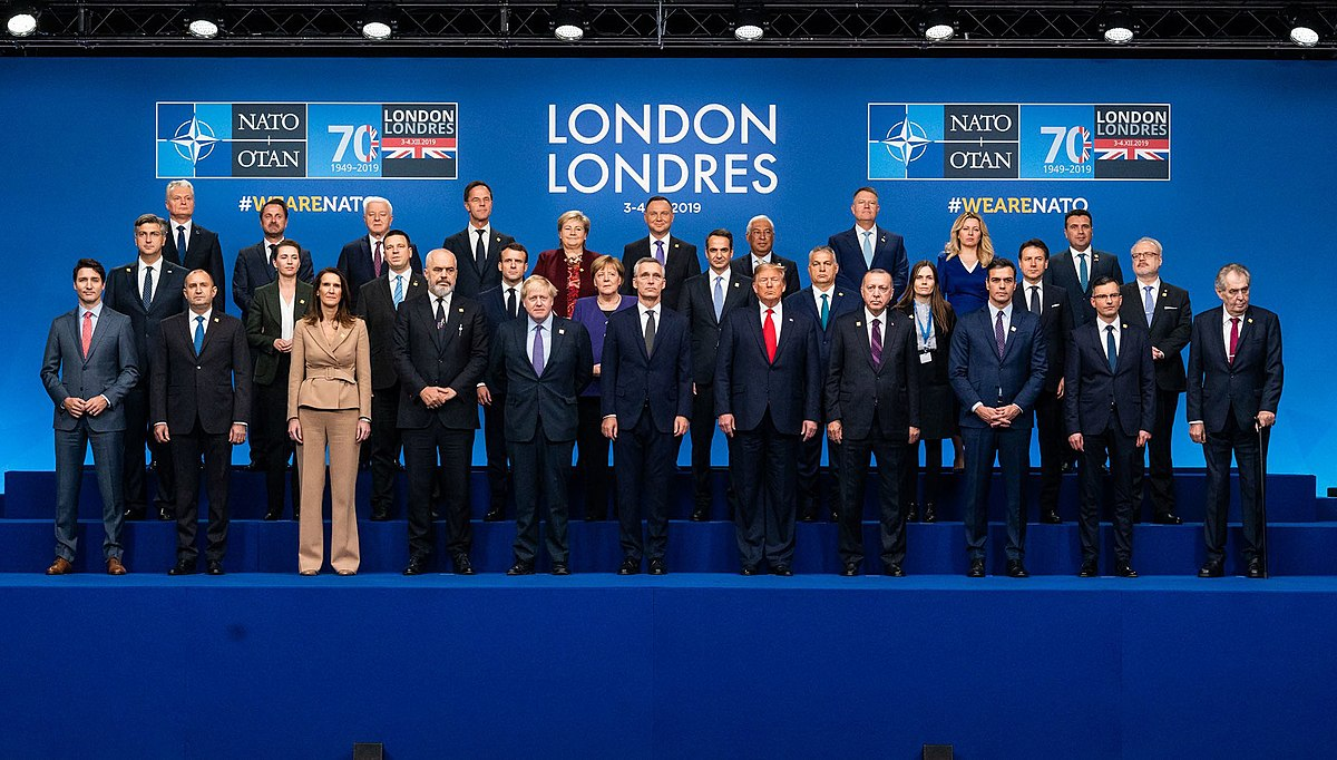 The world leaders at the NATO Summit. Photo Credit: US Department of State.
