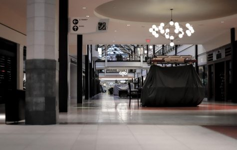 Dulles Mall during the stay-at-home order