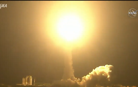 The final H-IIB rocket launches the HTV-9 spacecraft. Photo Credit: NASA.