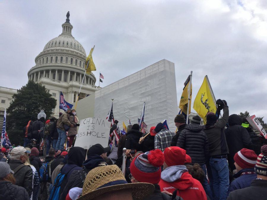 Riot+on+Capitol+Hill